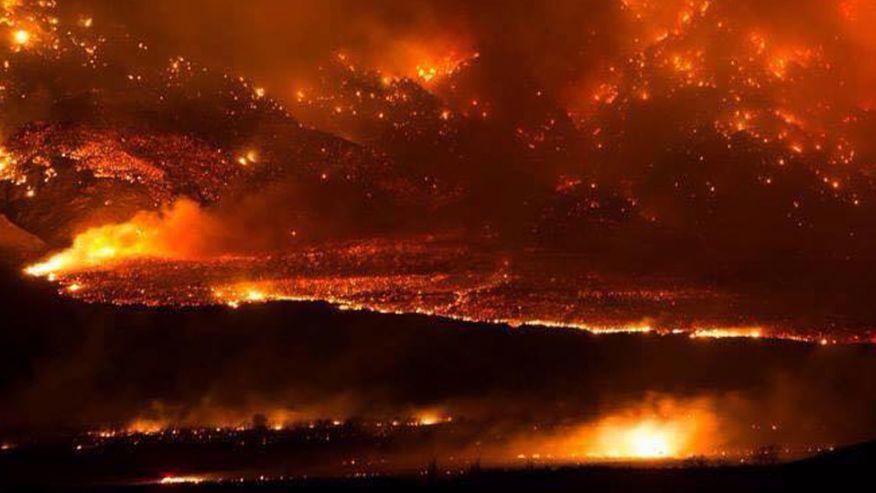 CA Wild Fire 2-9-15